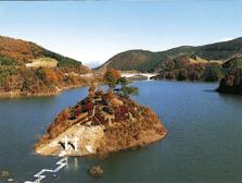 阿木川湖「阿木川ダム」 ダム湖...